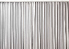 Curtain grey color Stock Image