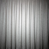 Curtain grey color Stock Photography