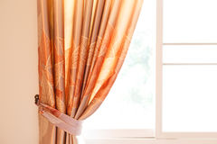 Curtain home decor Royalty Free Stock Images