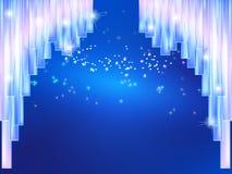 Curtain ice fairy tale Royalty Free Stock Photography