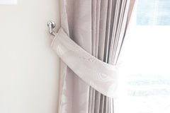 Curtain for  interior at home for interior Royalty Free Stock Image
