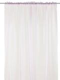 Curtain isolated on white Stock Photos