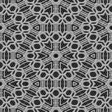 Curtain lace seamless generated texture Royalty Free Stock Image