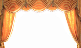 Curtain Open View Royalty Free Stock Image