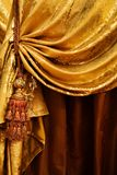 Curtain with an ornament Royalty Free Stock Photos