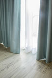 Curtain part of draperies Royalty Free Stock Photo
