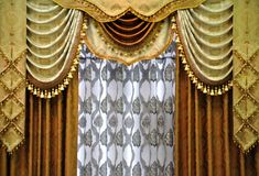 Free Curtain Pattern Stock Image - 15542251