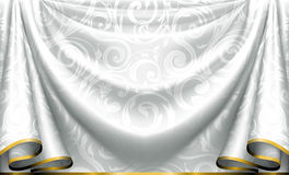 Curtain pattern Stock Images