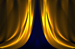 Curtain pattern Royalty Free Stock Photos