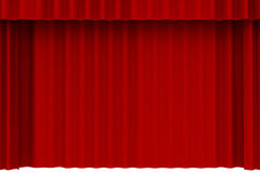 Curtain, portiere Royalty Free Stock Photography