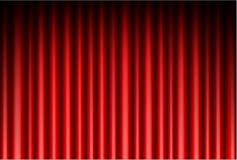 Curtain of red background. Illustration of Curtain of red background Stock Photos