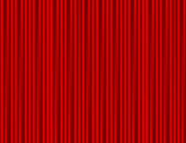 Curtain red closed with light spots in a theater Royalty Free Stock Images