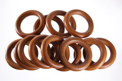 Curtain Rings Stock Image