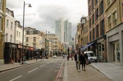 Curtain Road, Hoxton Stock Photo