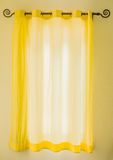 Curtain in the room Stock Photos