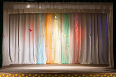 Curtain and scene Stock Photography