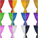 Curtain Set Royalty Free Stock Photos