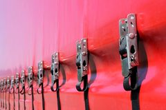 Curtain side trailer Royalty Free Stock Photos