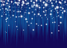 Curtain of stars Stock Images