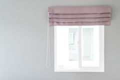 Curtain with sunlight Royalty Free Stock Photography