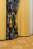 Curtain with tasselы Royalty Free Stock Photography