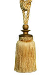 Curtain tassel Stock Image