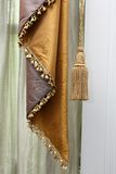 Curtain and tassel Stock Photography