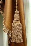 Curtain tassel Stock Images