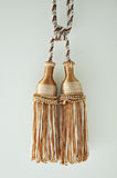 Curtain tassels Stock Images