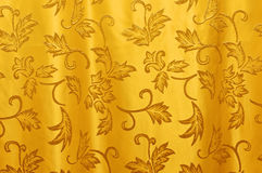 Curtain texture. Beautiful curtain texture in horizontal composition royalty free stock photography