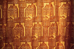 Curtain texture. Beautiful curtain as horizontal background Stock Photography