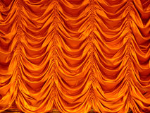 Curtain texture. The texture of an automated hanging curtain in a restaurant, window cover, micro stock Stock Image