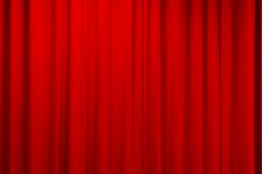 Curtain texture red Stock Photo