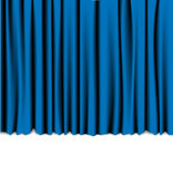 Curtain from the theatre Royalty Free Stock Photo