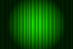 Curtain from the theatre with a spotlight Royalty Free Stock Photo