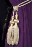 Curtain tie Royalty Free Stock Photos