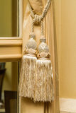 Curtain tie Stock Image