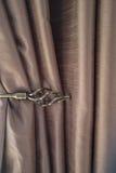Curtain tieback Stock Image