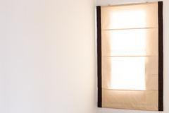Curtain to hide sunlight Stock Photo