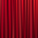 Curtain. Vector Stock Image