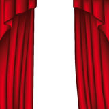 Curtain (vector) Royalty Free Stock Photo