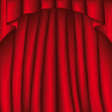 Curtain (vector) Stock Images