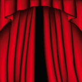 Curtain (vector) Royalty Free Stock Image