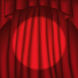Curtain (vector) Royalty Free Stock Photos