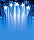 Curtain vip Royalty Free Stock Image