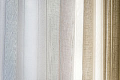 Curtain window background Stock Photos