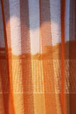 Curtain on a window, trasparency Stock Images