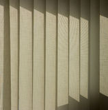 Curtains. White curtains with sunny colors Royalty Free Stock Images