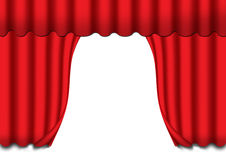 The curtains Stock Images