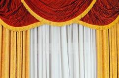 Curtains Stock Photo